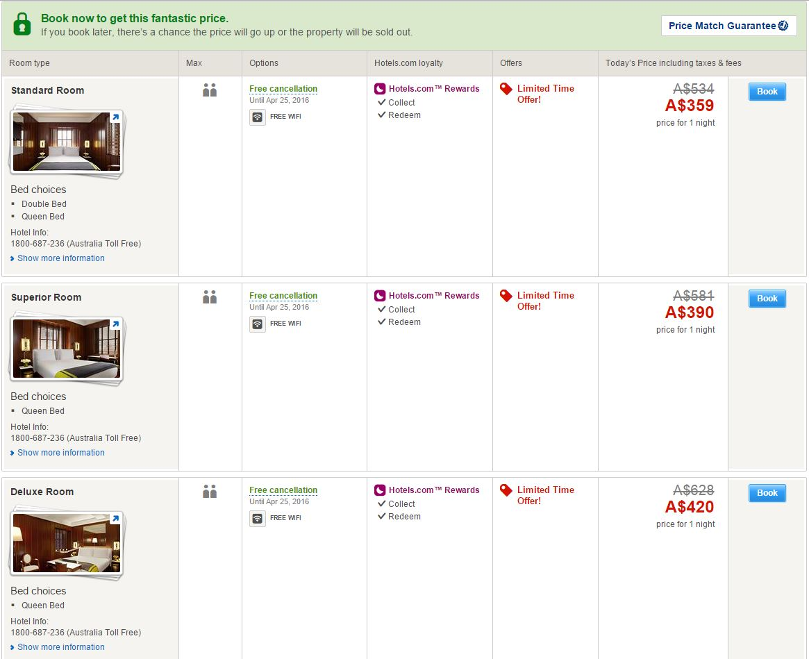 Discount coupon hotels.com